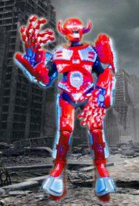 Robots, Robotic Performance by Skeleton Dance Crew, Demon Robot