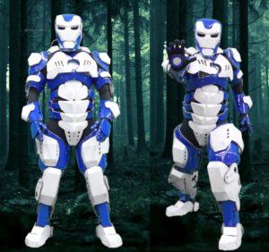 Robots, Robotic Performance by Skeleton Dance Crew, Iron Man Robot, Iron Man Costume