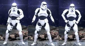 Robots, Robotic Performance by Skeleton Dance Crew, Trooper Robot