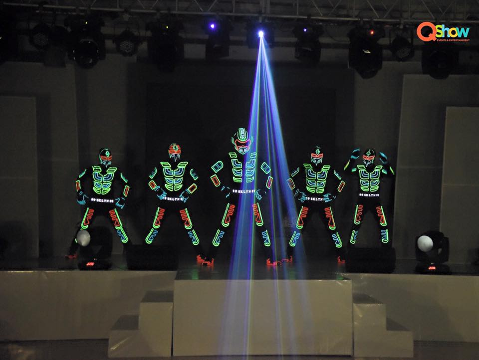 Tron Led dance – Where Reality and Imagination Meet