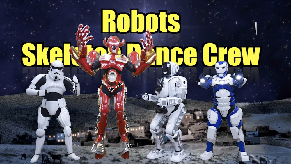 Robotic Acts for all occasions by Skeleton Crew