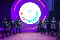 LED Drummers performed for Ferring Pharmaceuticals