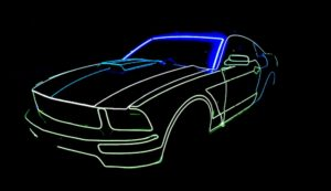 Tron Car by Skeleton Dance Crew