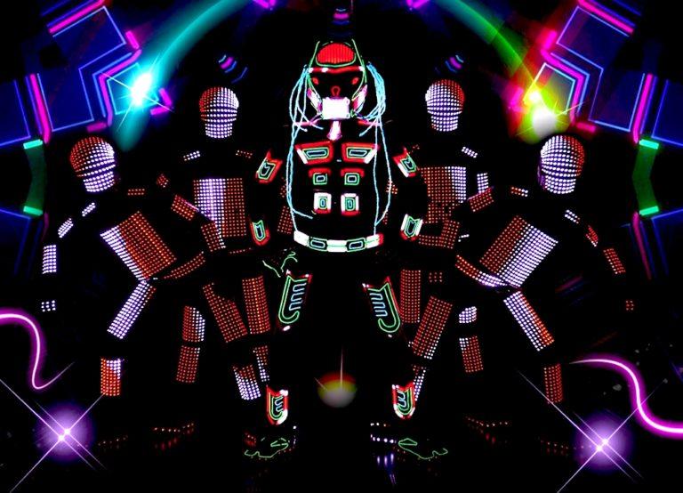 Tron Dance, Visual Tron