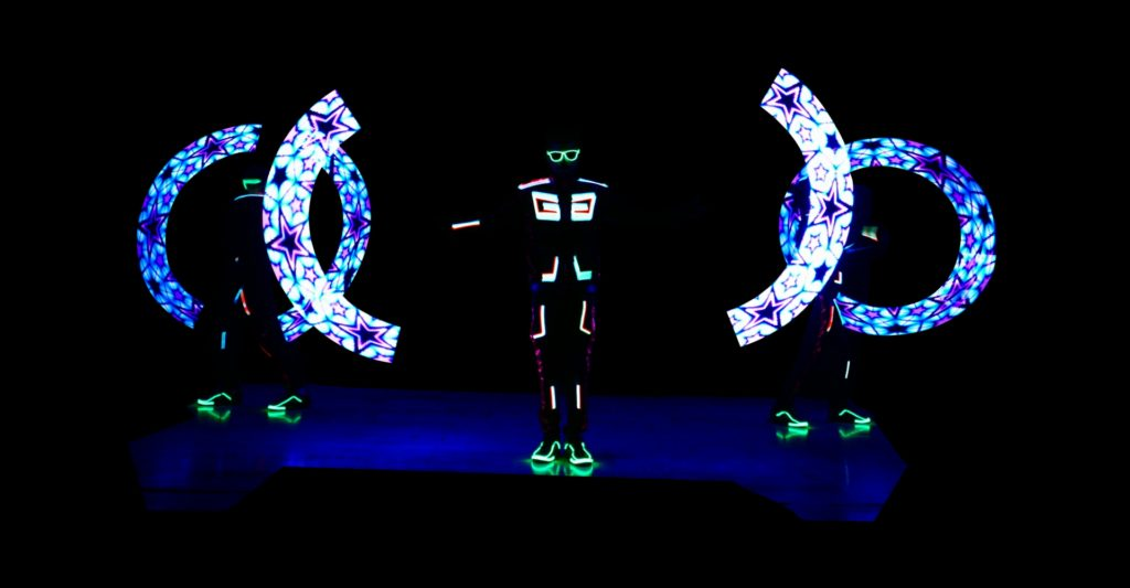 Visual Pixel Poi by Skeleton dance crew