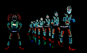 Tron LED Dance