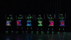 LED Drummers Skeleton Dance Crew