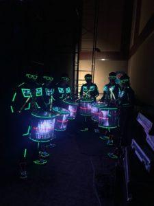 LED Drummers