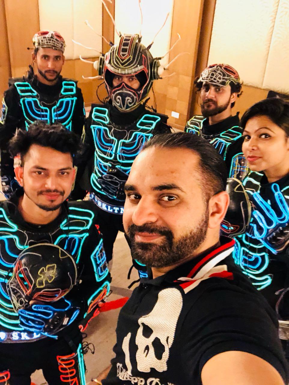 Tron Dance group