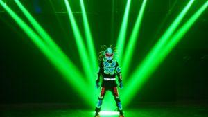 Tron LED Dance