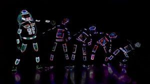 Visual Tron by skeleton Dance Crew