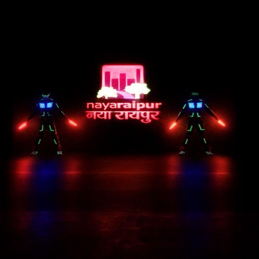 Innovation - Tron and LED Dance | Skeleton Dance Crew