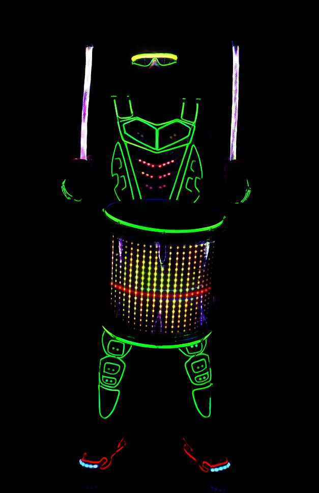 LED Drummers
