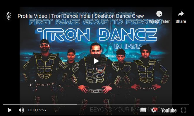 Tron Dance India | Best Tron Dance Company in India