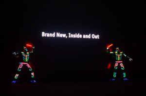 LED Interactive act for Audi5