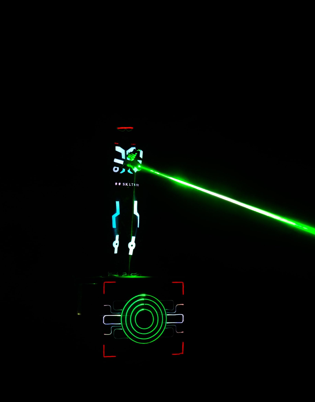 Laser-Man show for Audi
