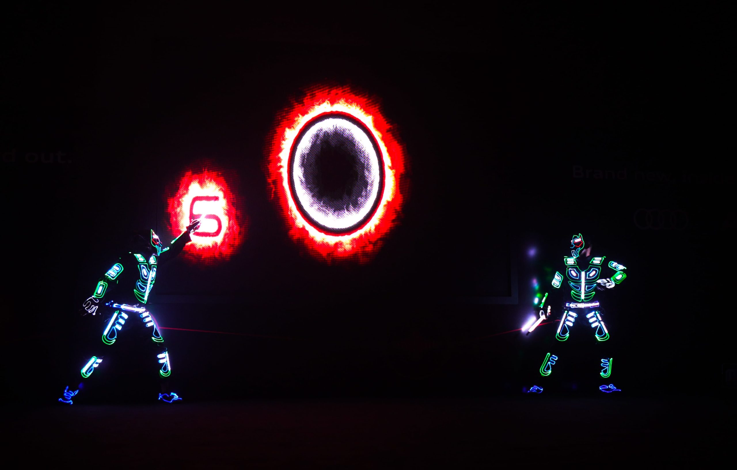 LED Interactive act for Audi3