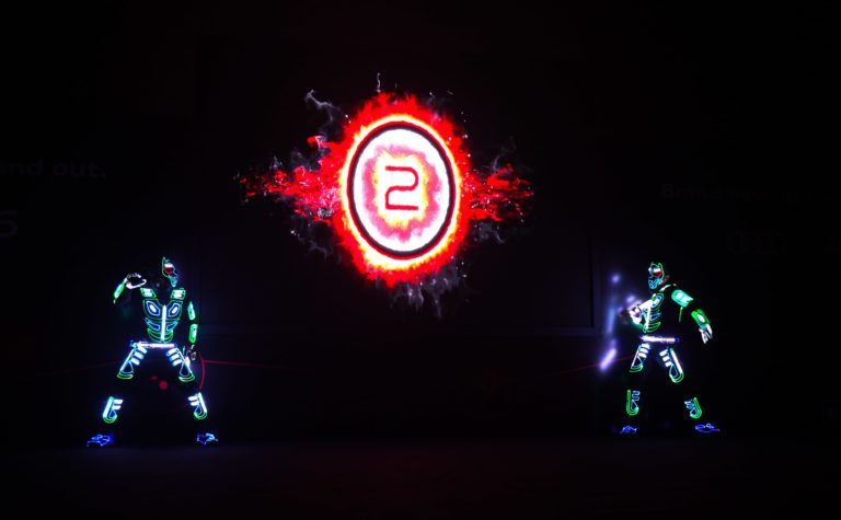 LED Interactive act for Audi2