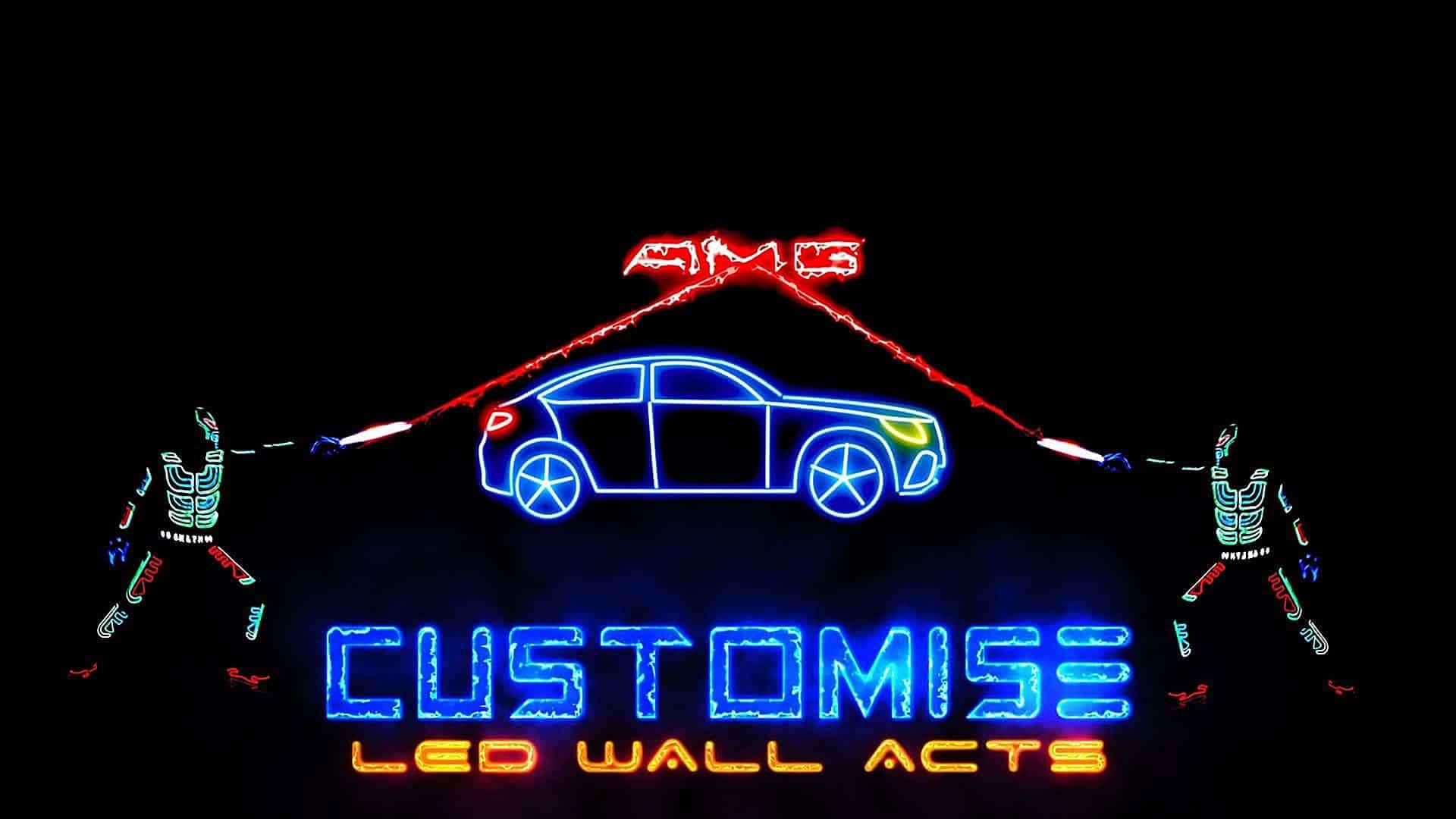 Customise LED Wall show