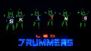 LED glowing Drummers India