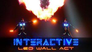 LED Wall show